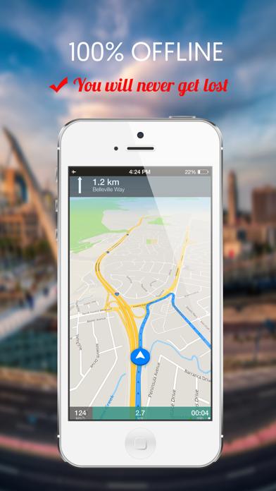Zurich, Switzerland : Offline GPS Navigation screenshot two