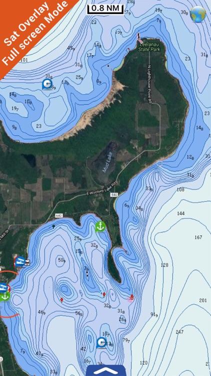 Great Lakes HD Nautical Charts