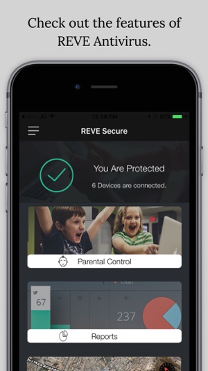 REVE Secure on the App Store