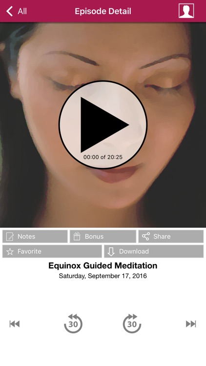 Meditation Oasis App screenshot-2