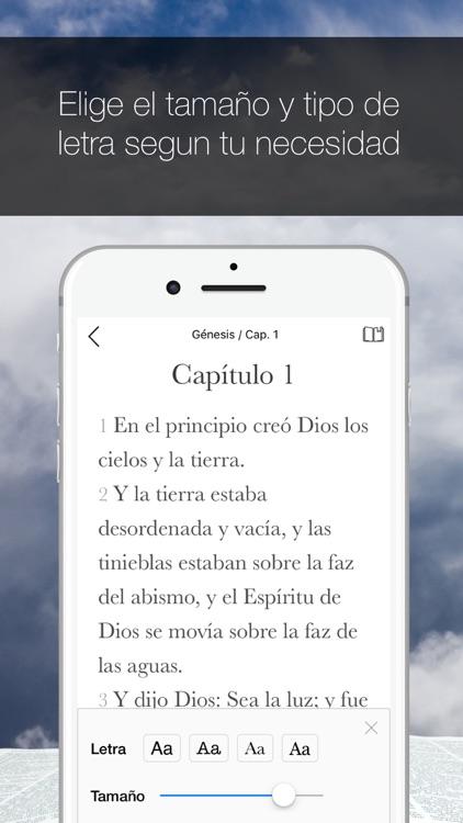 Biblia de las Américas screenshot-4