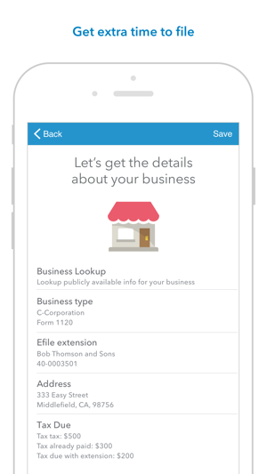 Turbotax Business Extensions On The App Store