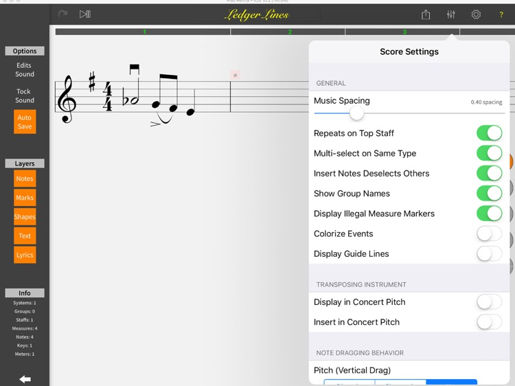 MusicJOT screenshot-1