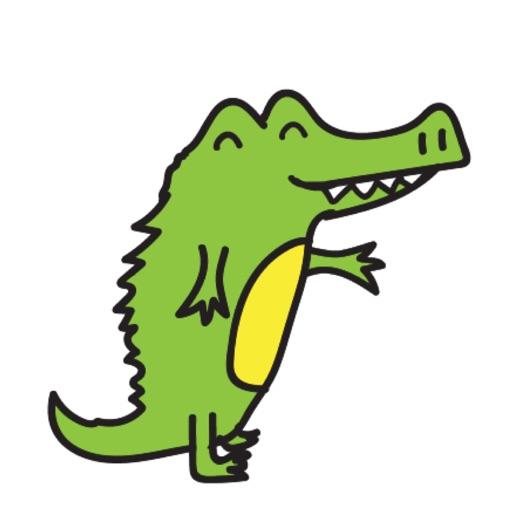 Golu the crocodile