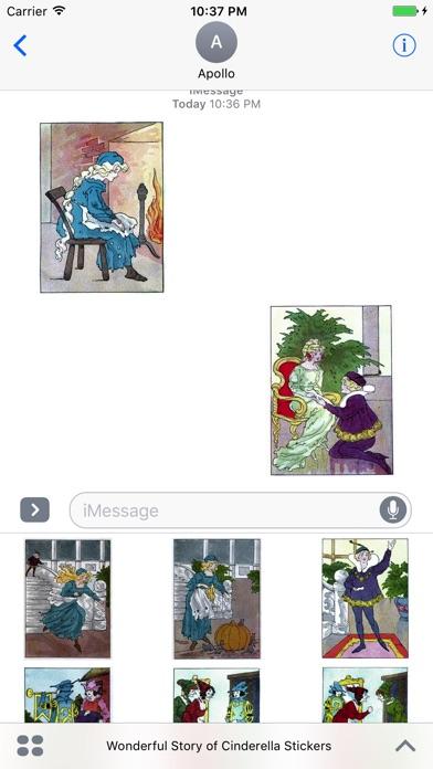 Wonderful Story of Cinderella StickersScreenshot von 5