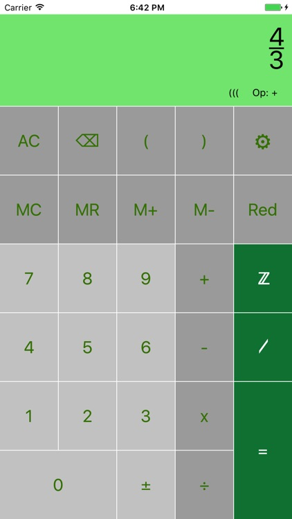 FraCa (fraction calculator) screenshot-3