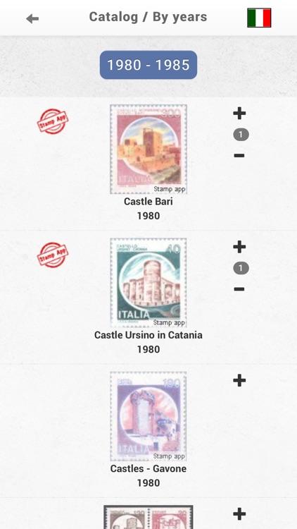 Italia francobolli, Filatelia screenshot-3