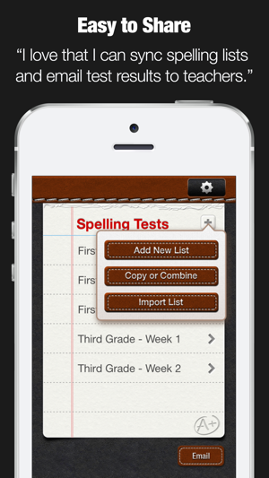 A+ Spelling Test on the App Store