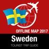 瑞典 旅游指南+离线地图