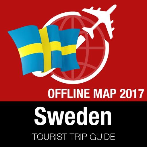 Sweden Tourist Guide + Offline Map