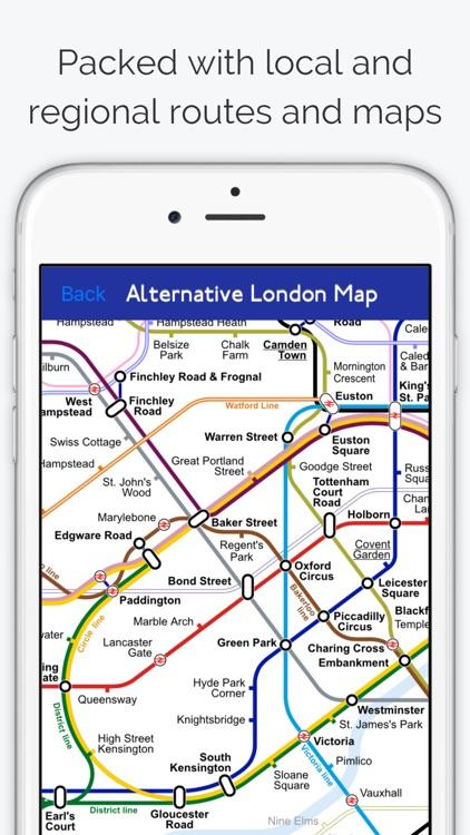 London Tube Map PRO screenshot-4