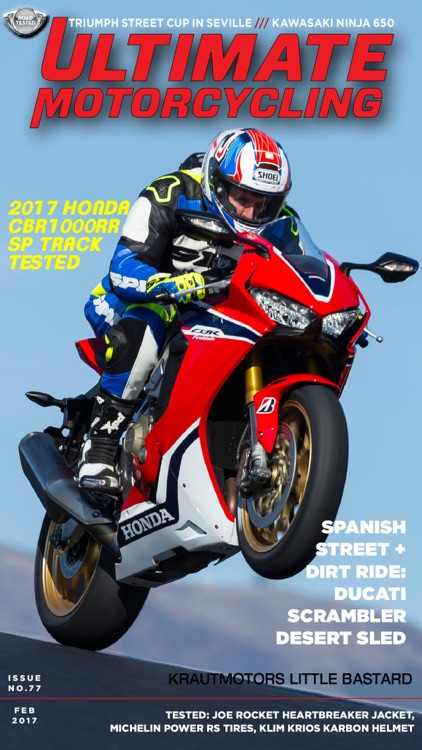 Ultimate MotorCycle Magazine screenshot-0