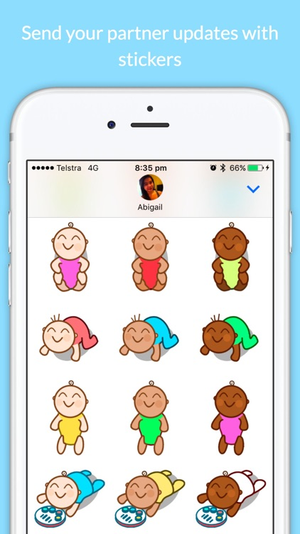 Baby Stickers - Cuteness Overload screenshot-3