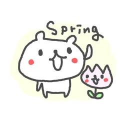 Spring Cute Bear