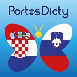 PortosDicty Hrvatsko slovenski riječnik, Slovensko hrvaški slovar