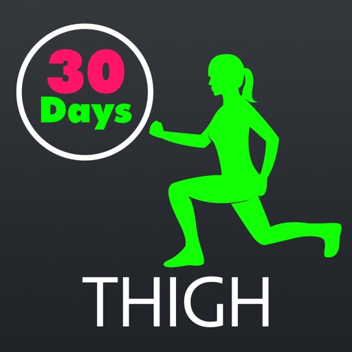 30 Day Thigh Slimming Fitness Challenges Pro