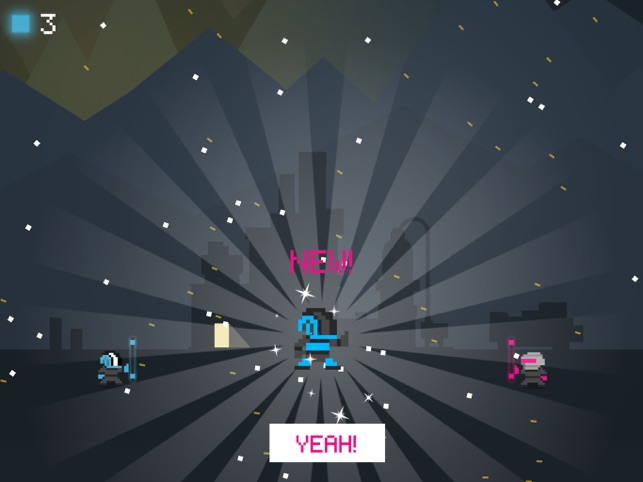 BitChip Bounce, game for IOS