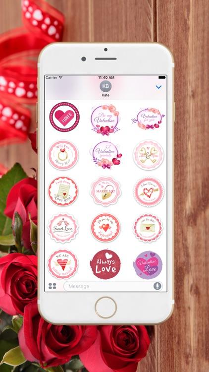 Valentines Day 2017 Stickers