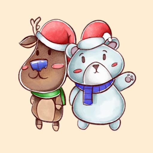Together Snowy Day Sticker