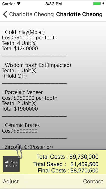 Dental Manager screenshot-3