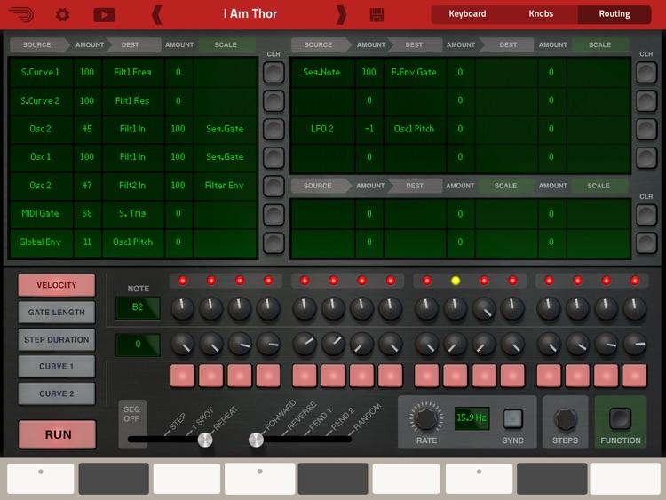 Thor Polysonic Synthesizer screenshot-4