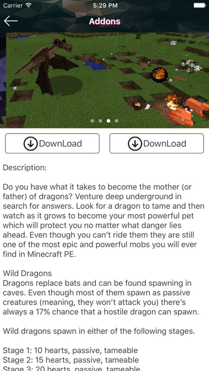 Dragon Addons for Minecraft PE by aiping zeng