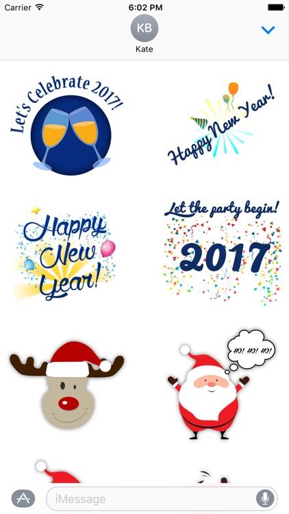 Holidays Stickers Emojis screenshot-3