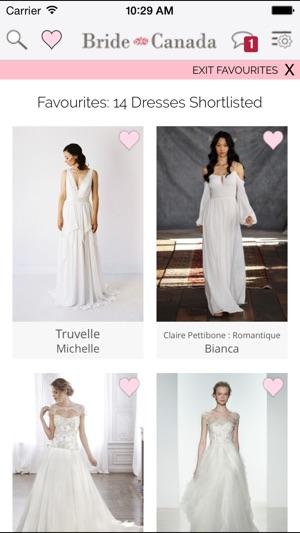 Bridenada wedding dress finder on the app store canada wedding dress finder on the app store junglespirit Gallery