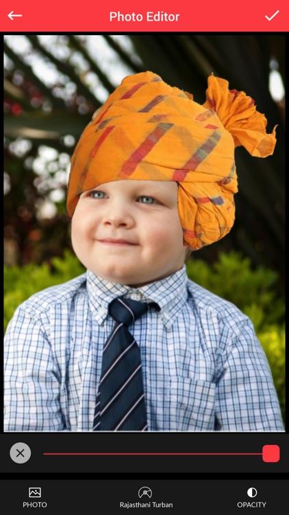 Rajasthani Turban Photo Editor - Turban Sticker
