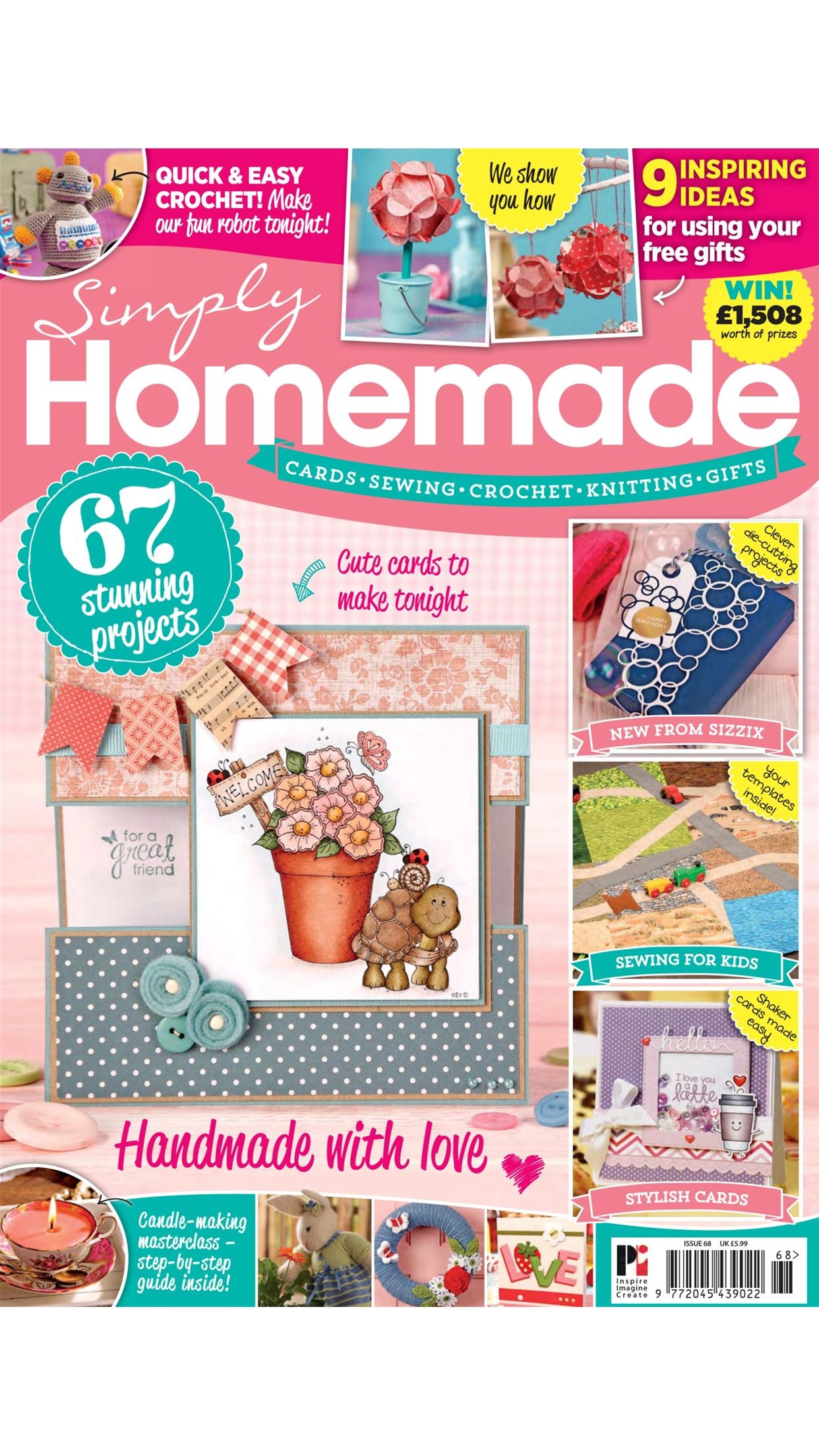 Simply Homemade magazine Screenshot