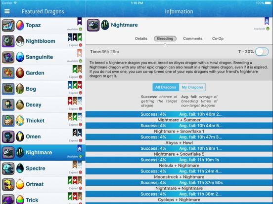 Dragonvale guide app