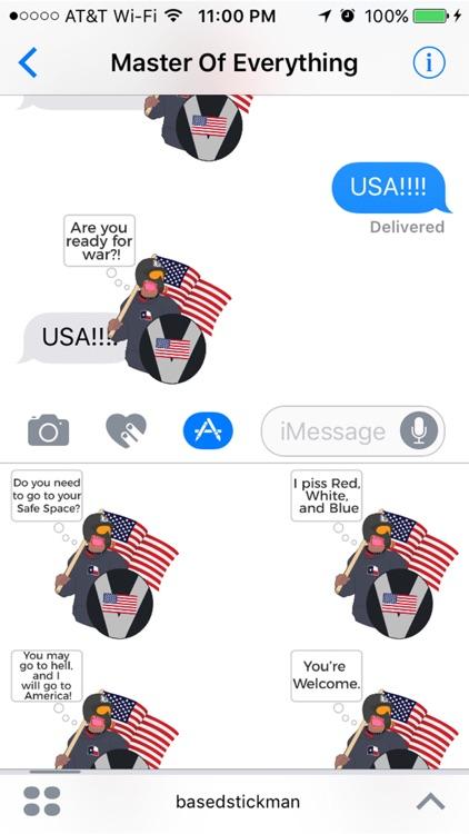 Based Stickman : An American Hero and Patriot screenshot-4