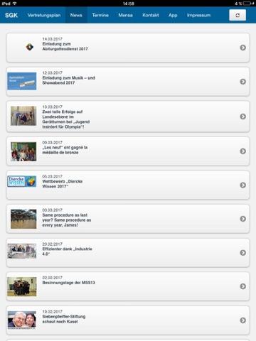 SGK - Schulapp Gymnasium Kusel screenshot 2