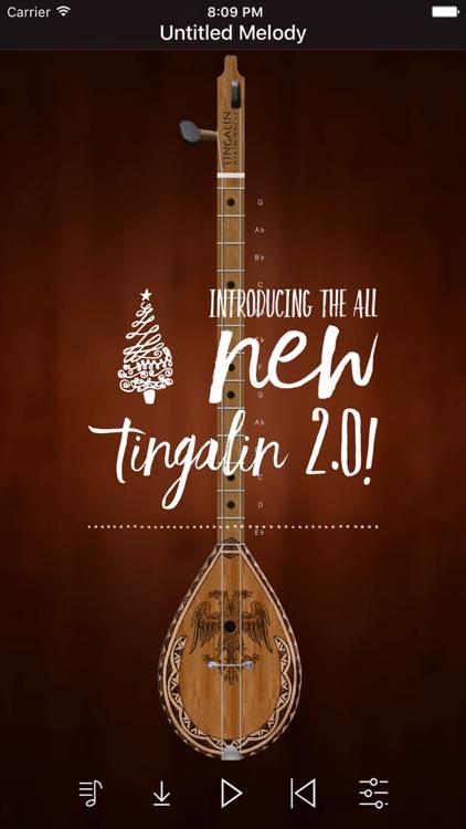 Tingalin - (Albanian Çiftelija) Music Instrument screenshot-0