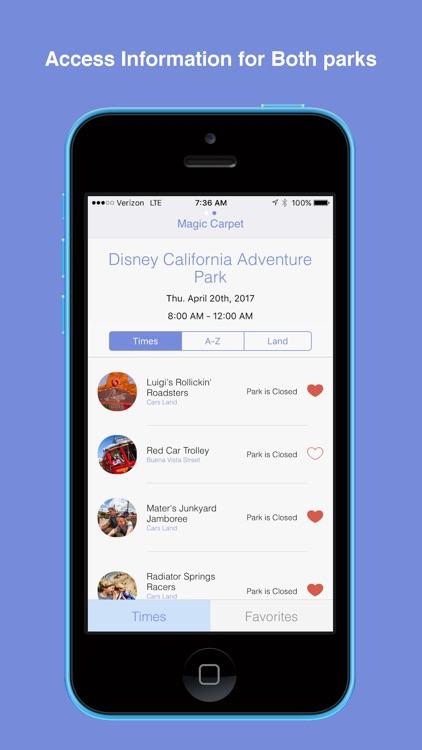 Magic Carpet for Disneyland screenshot-3