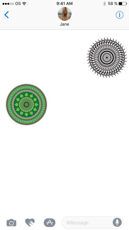 Mandala Sticker Pack!