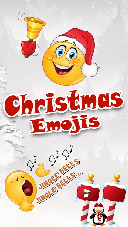 Christmas Emoji Icons & Stickers