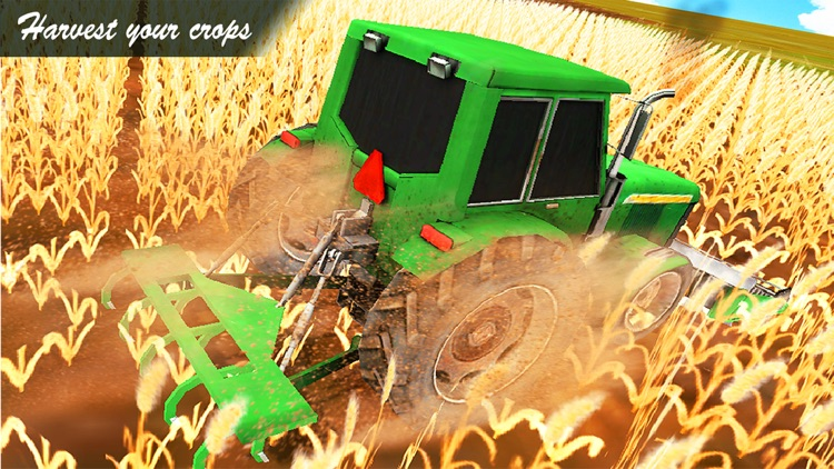 USA Farming Simulator 3D : Pro Farm Tractor Drive screenshot-3