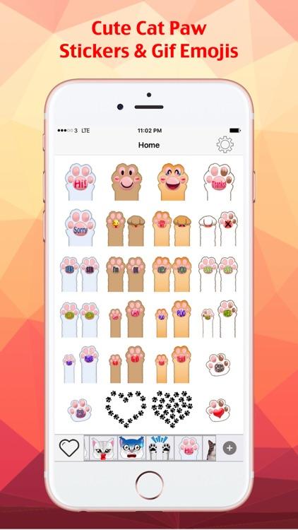 Cat Keyemoji Free-Kitty Sticker Gif Video Emoji screenshot-3