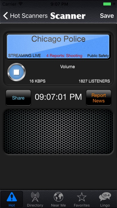 Police Scanner Radio review screenshots