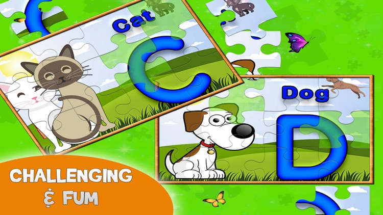 Learning ABC Puzzle for Kids