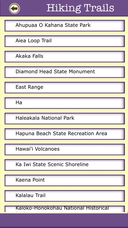 Hawaii Campgrounds & Hiking Trails,State Parks screenshot-3