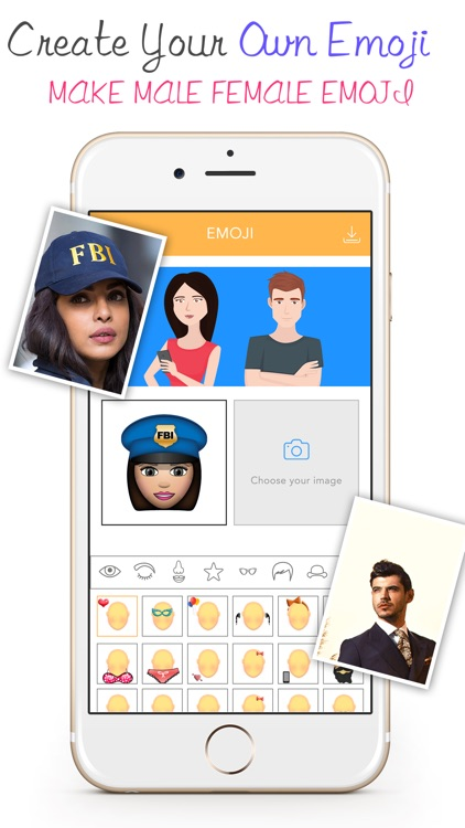 Stickers Emoji For WeChat -Avatar GIF & Fancy Text screenshot-2