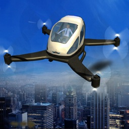 Drone Taxi Flying Car 3D Flight Simulator