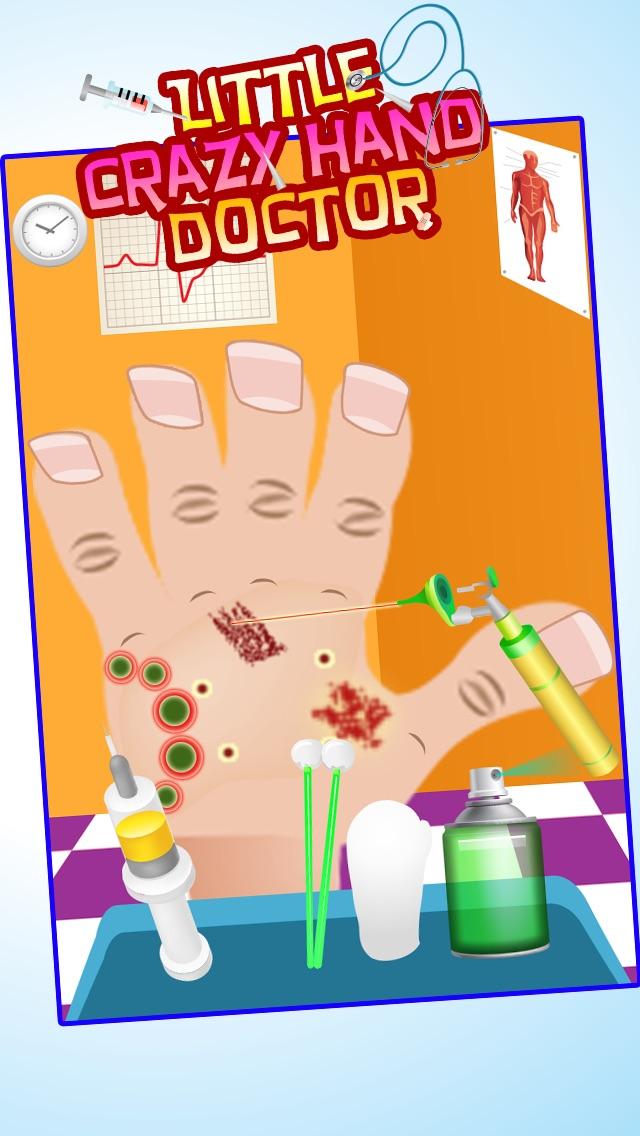 Wenig Crazy Hand Arzt ( Dr) - Kinder SpieleScreenshot von 3