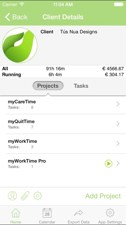myWorkTime - Timesheet, Time and Billing Tracker