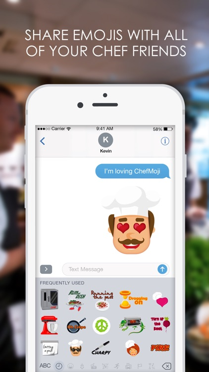 Chefmoji: Emojis & Stickers for Professional Chefs