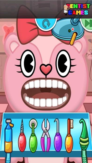 Rabbits Dentist Game For Kids Screenshot on iOS