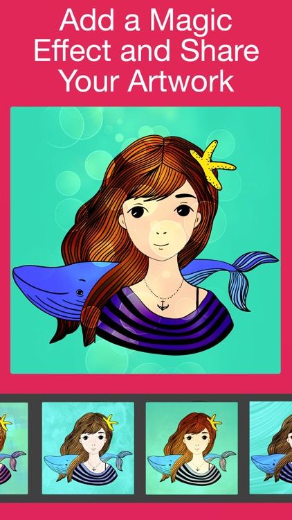 Adult Color-ing Book & Games screenshot-3