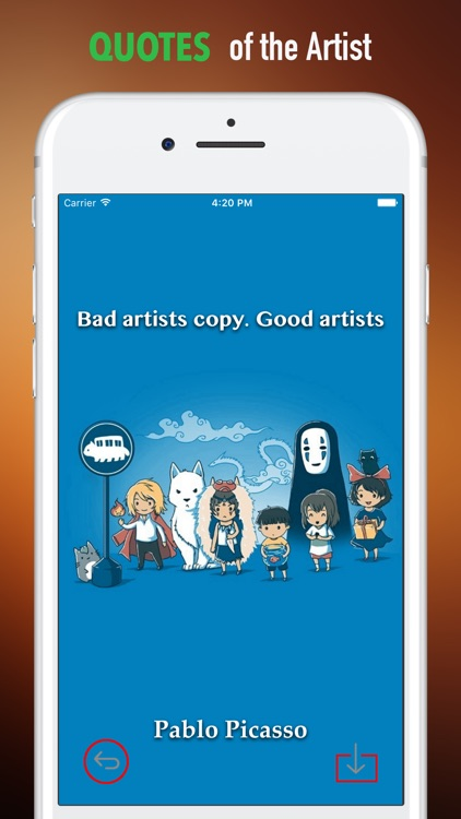 Wallpapers HD for Hayao Miyazaki Art- Quotes screenshot-3